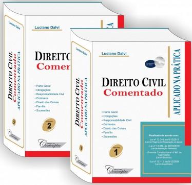 Direito Civil Comentado Aplicado na Pratica - Luciano Dalvi