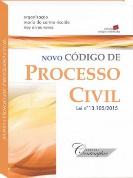 Novo Código de Processo Civil - mini - Coleção Códigos Contemplar