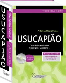 Usucapião 3a. Edição  -  Antonino Moura Borges