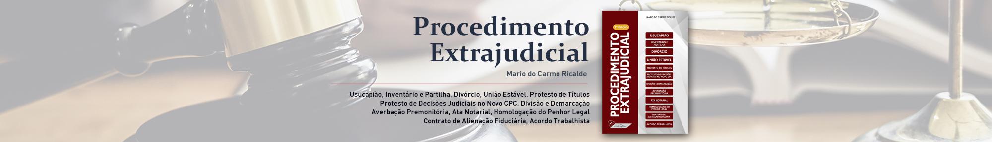 Procedimento Extrajudicial