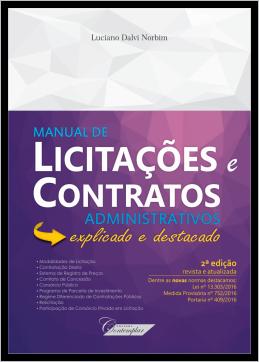 Manual de Licitações e Contratos Administrativos (2a ed)