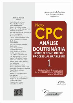 Novo CPC - Análise Doutrinária sobre o novo direito processual brasileiro - Volume 1 (2a edição)