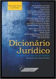 Dicionário Jurídico: expressões correntes de uso cotidiano